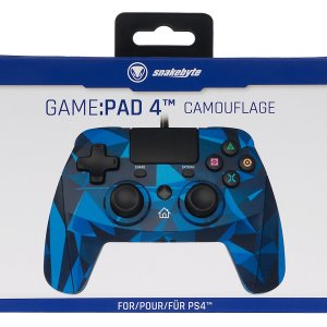 PS4: Snakebyte Game: Pad 4 S - Camouflage