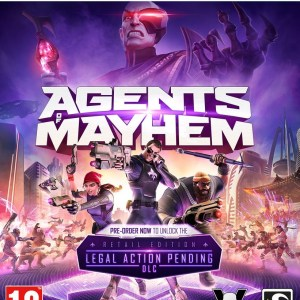 PS4: Agents of Mayhem - Day 1 Edition