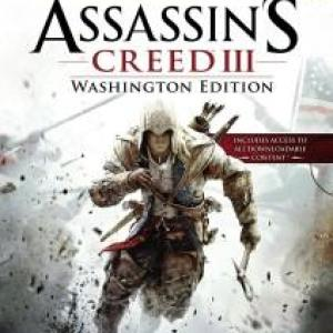 Xbox 360: Assassins Creed 3:Washington. (käytetty)