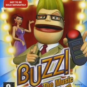 PS2: Buzz Music Quiz (käytetty)