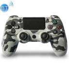 PS4: DoubleShock 4 langaton ohjain (Camowhite)