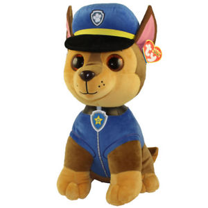 TY Beanie Boos CHASE sheperd dog large