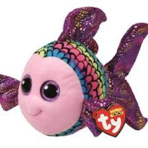 TY Beanie Boos FLIPPY - multicolored fish med
