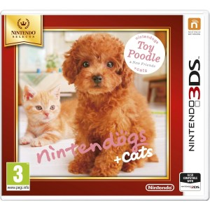 3DS: Nintendogs & Cats Toy Poodle Selects