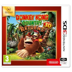 3DS: Donkey Kong Country Returns  (Selects)