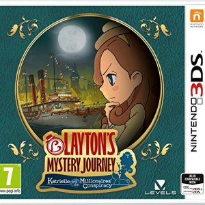 3DS: Laytons Mystery Journey: Katrielle and the Millionaires Conspiracy
