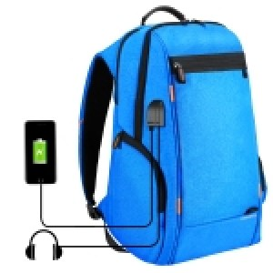 HAWEEL Outdoor Multi-function Comfortable Breathable Casual Backpack Laptop Bag with Handle, External USB Charging Port & Earphone Port(Red)	HAWEEL Outdoor Multi-function Comfortable Breathable Casual Backpack Laptop Bag with Handle, External USB Charging Port & Earphone Port(Blue)