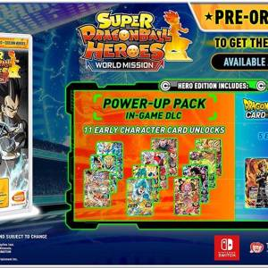 Switch: Super DragonBall Heroes World Mission