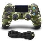 PS4: DoubleShock 4 langallinen ohjain (Camo Green)