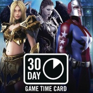 PC: NCSOFT: 30 Day Game Time Card