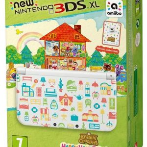 3DS: New 3DS XL Console Animal Crossing: Happy Home Designer Edition + Amiibo Card