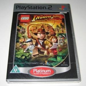 PS2: LEGO Indiana Jones: The Original Adventures (käytetty)