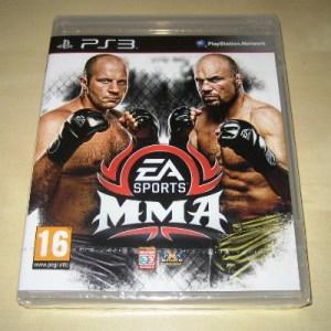 PS3: EA Sports MMA Mixed Martial Arts (käytetty)