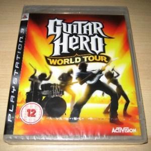 PS3: Guitar Hero World Tour (käytetty)