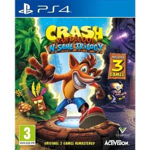 PS4: Crash Bandicoot N. Sane Trilogy