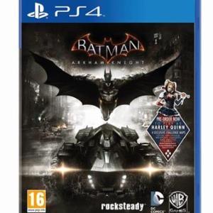 PS4: Batman Arkham Knight (käytetty)