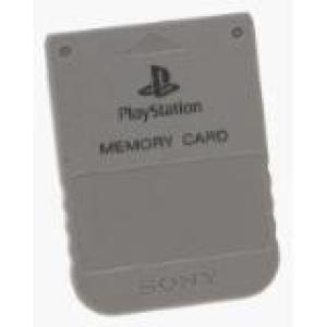 PS1: Playstation 1 muistikortti (käytetty)
