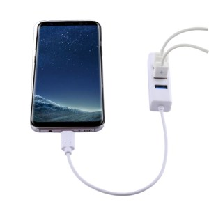 Portable USB-C / Type-C Male to 4 USB Ports Female HUB Adapter