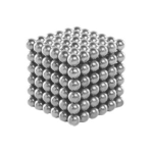 216 PCS Buckyballs Magnetic Balls / Magic Puzzle Magnet Balls(Silver)