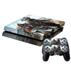 PS4: Pirate Pattern Protective Skin Sticker Cover Skin Sticker for PS4 Game Console