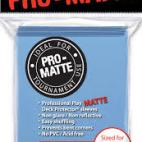 Ultra Pro Deck Protector Matte (Light Blue)