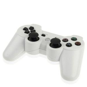 PS3: DoubleShock 3 langaton peliohjain (Valkoinen)