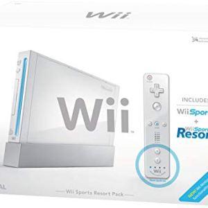 Wii: Nintendo Wii konsoli + Wii Sports Resorts ja kaikki tarvikkeet (käytetty)