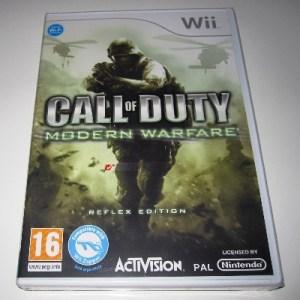 Wii: Call of Duty: Modern Warfare - Reflex (käytetty)