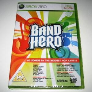 Xbox 360: Band Hero (käytetty)