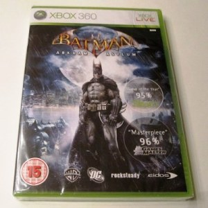 Xbox 360: Batman: Arkham Asylum (käytetty)