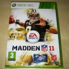Xbox 360: Madden NFL 11 (käytetty)