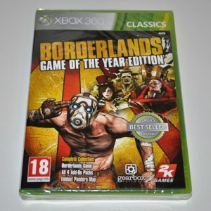 Xbox 360: Borderlands - Game of the Year Edition Classics (käytetty)