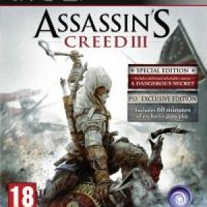 PS3: Assassins Creed III (käytetty)