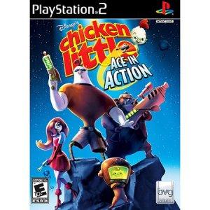 PS2: Disneys Chicken Little: Ace In Action (käytetty)