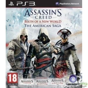 PS3: Assassins Creed: Birth of a New World, The American Saga (käytetty)