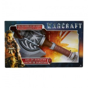 Warcraft The Movie - Role Play Plastic Replica Axe Of Durotan ca. 40cm