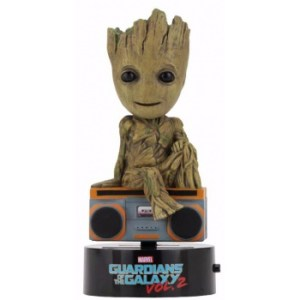 Marvel Guardians Of The Galaxy 2 - Groot Solar Powered Body Knocker 15cm