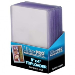 UP - Toploader - 3 x 4 Super Clear Premium (25 pieces)
