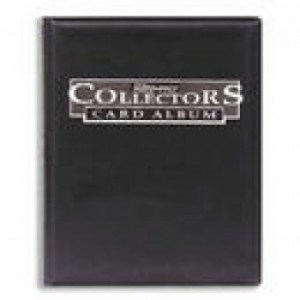 UP - Collectors 4-Pocket Portfolio - Black