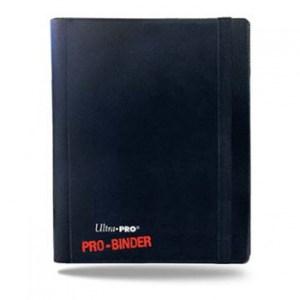 UP - Pro-Binder - 4-Pocket Portfolio - Black