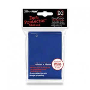 UP - Small Sleeves - Blue (60 Sleeves)