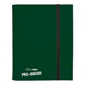 UP - Pro-Binder - 9-Pocket Portfolio - Dark Green