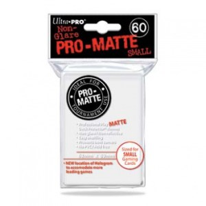UP - Small Sleeves - Pro-Matte - White (60 Sleeves)