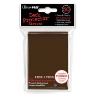 UP - Standard Sleeves - Brown (50 Sleeves)