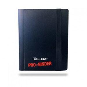UP - Pro-Binder - 2-Pocket Portfolio - Black