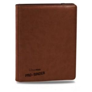 UP - Premium Pro-Binder - 9-Pocket Portfolio - Brown