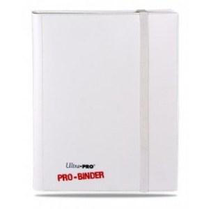 UP - Pro-Binder - 9-Pocket Portfolio - White on White