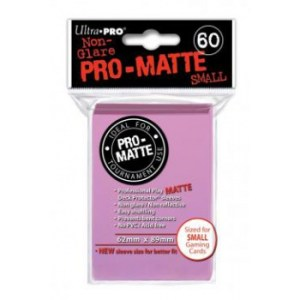 UP - Small Sleeves - Pro-Matte - Pink (60 Sleeves)