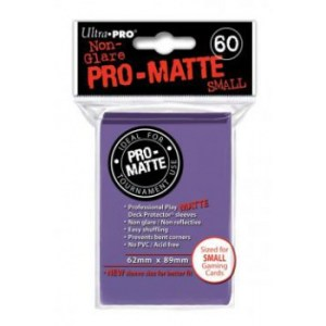 UP - Small Sleeves - Pro-Matte - Purple (60 Sleeves)