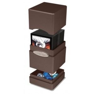 UP - Deck Box - Satin Tower - Metallic Dark Chocolate